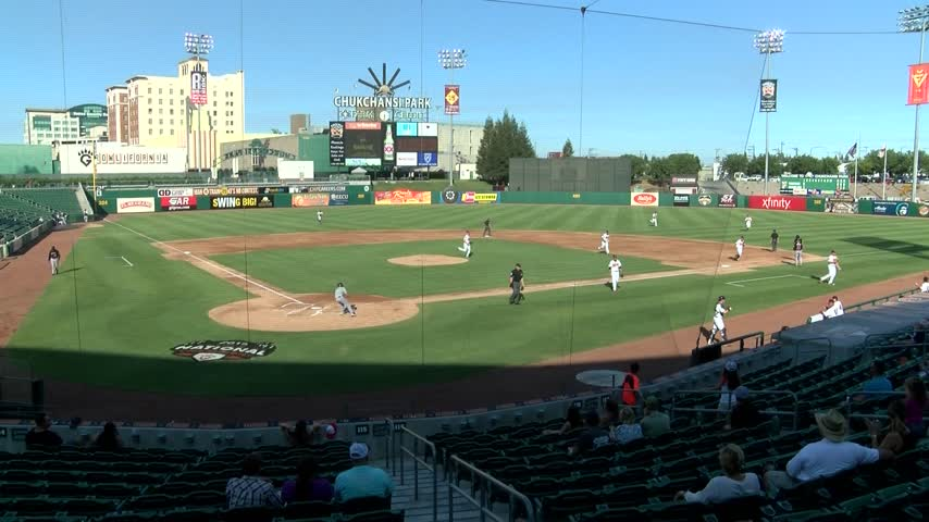 Fans Turn Out for Fresno Grizzlies Game Despite Triple-Digit_20160725063502