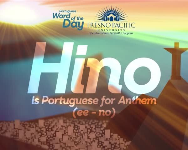 Portuguese Word Of The Day - Hino_67073263-159532