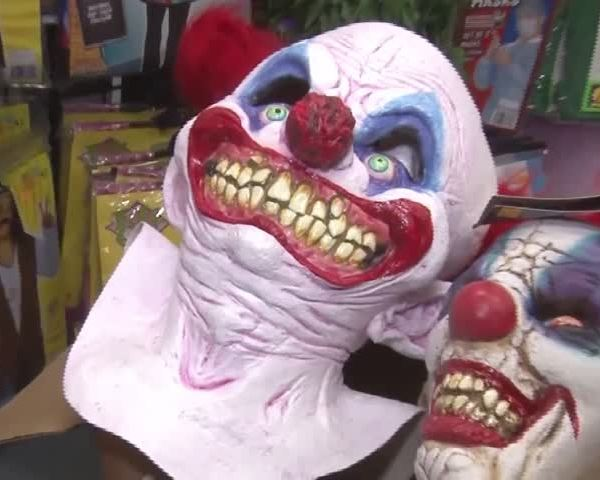 Target pulls clown masks from store shelves