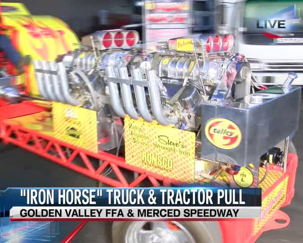 Truck and tractor pull benefits Future Farmers