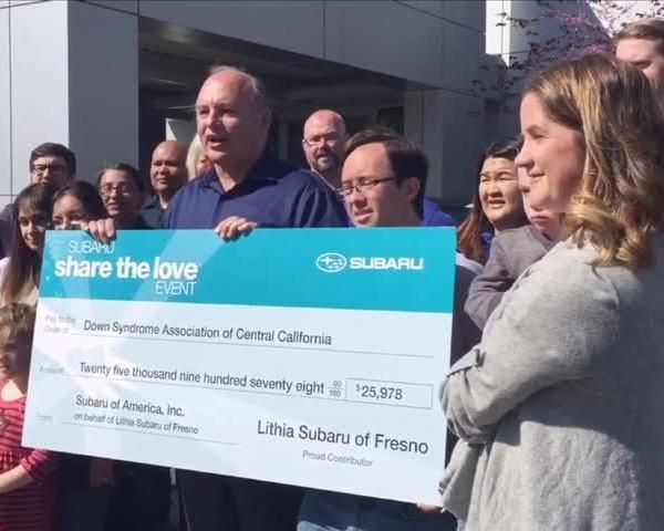 Lithia Subaru Shares the Love_93773299