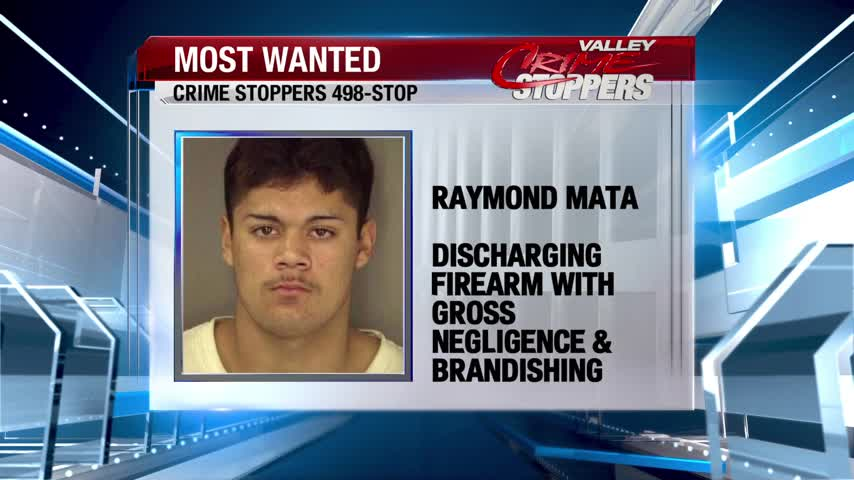 Crime Stoppers Most Wanted: Raymond Mata