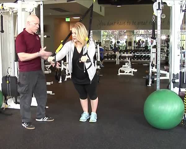 In the Gym- Workouts at Home_93789568