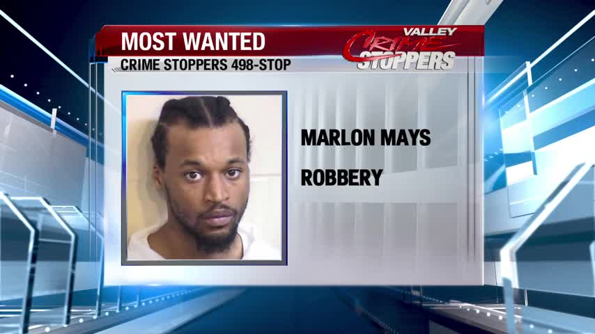 Crime Stoppers Most Wanted: Marlon Mays