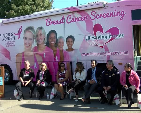 Mobile Mammography Bus Offers Free Breast Cancer Screenings