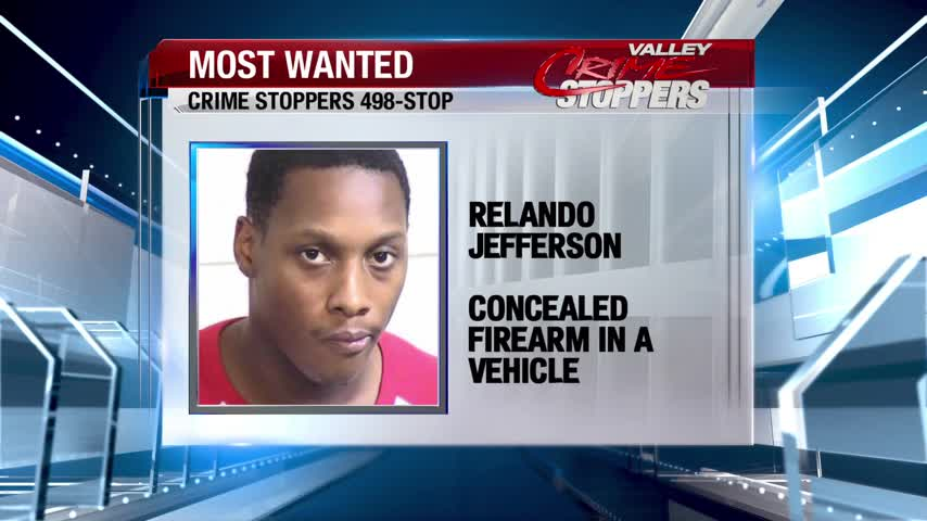 Crime Stoppers Most Wanted: Relando Jefferson
