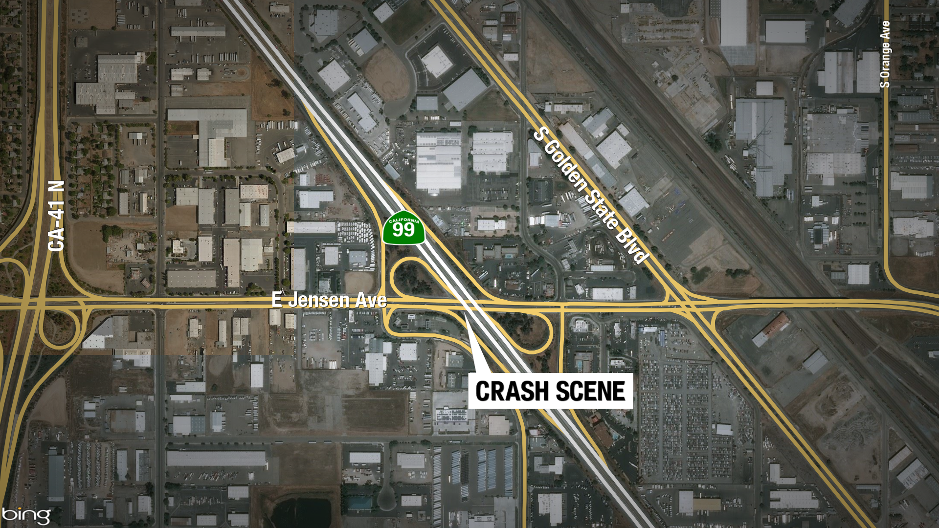 Accident Closes portion of 99