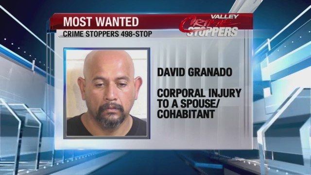 Crime Stoppers Most Wanted; David Granado