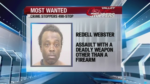 Crime Stoppers Most Wanted: Redell Webster