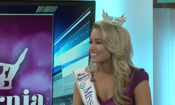 Miss California off to Miss America!