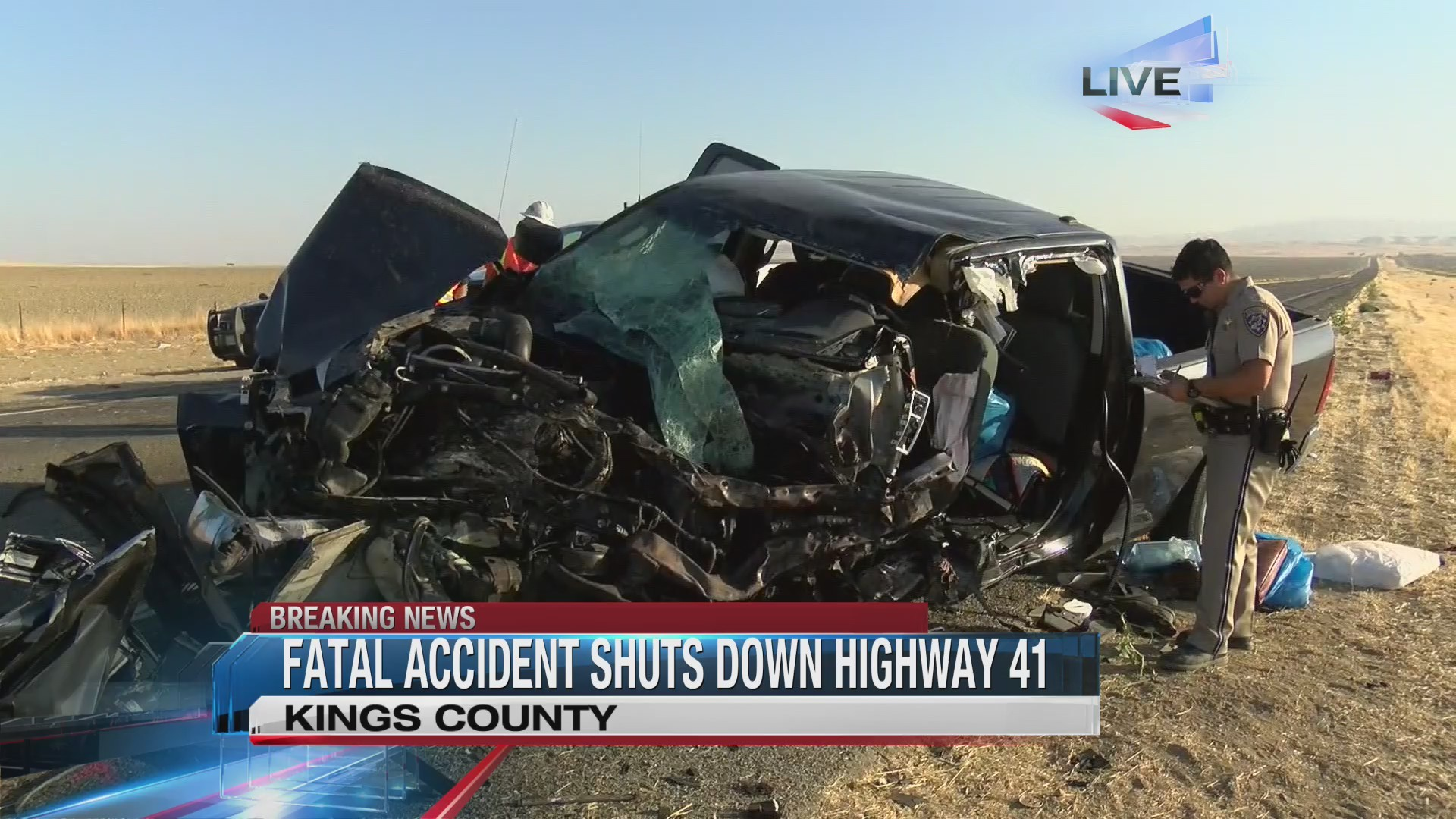 Clovis vehicle involved in Kings County crash that killed two