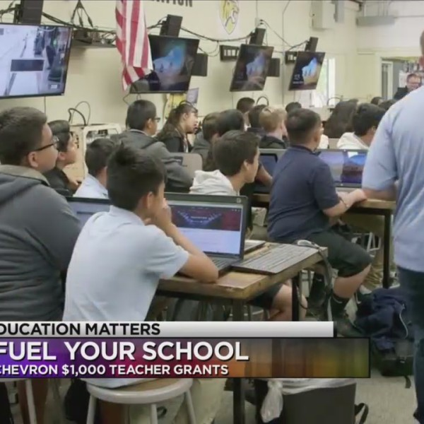Chevron offering scholarships for teacher programs