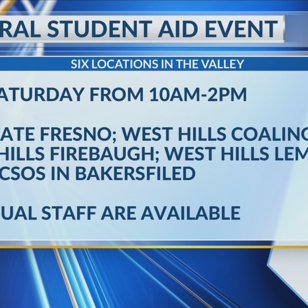 FAFSA event this Saturday