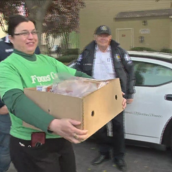 Fresno Police Department Delivers Holiday Cheer