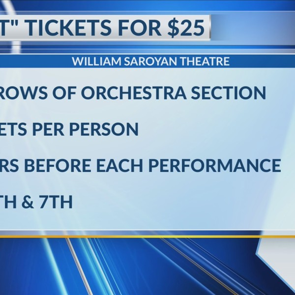 How to get $25 tickets to see 'Rent' at the Saroyan Theatre