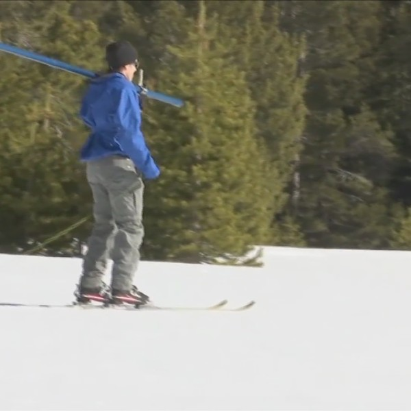 State snowpack at 100 percent, according to latest sierra snow survey