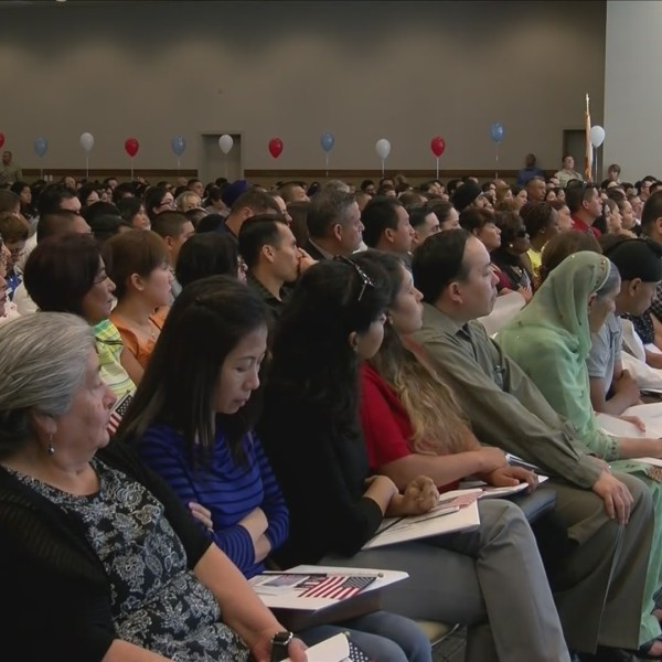 More than 100 local immigrants will become U.S. citizens today