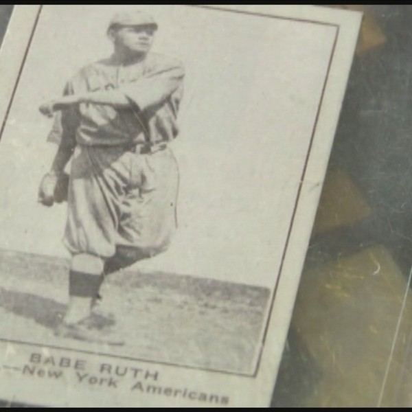 Visalia man finds Babe Ruth Card, and is offered $3 MILLION.