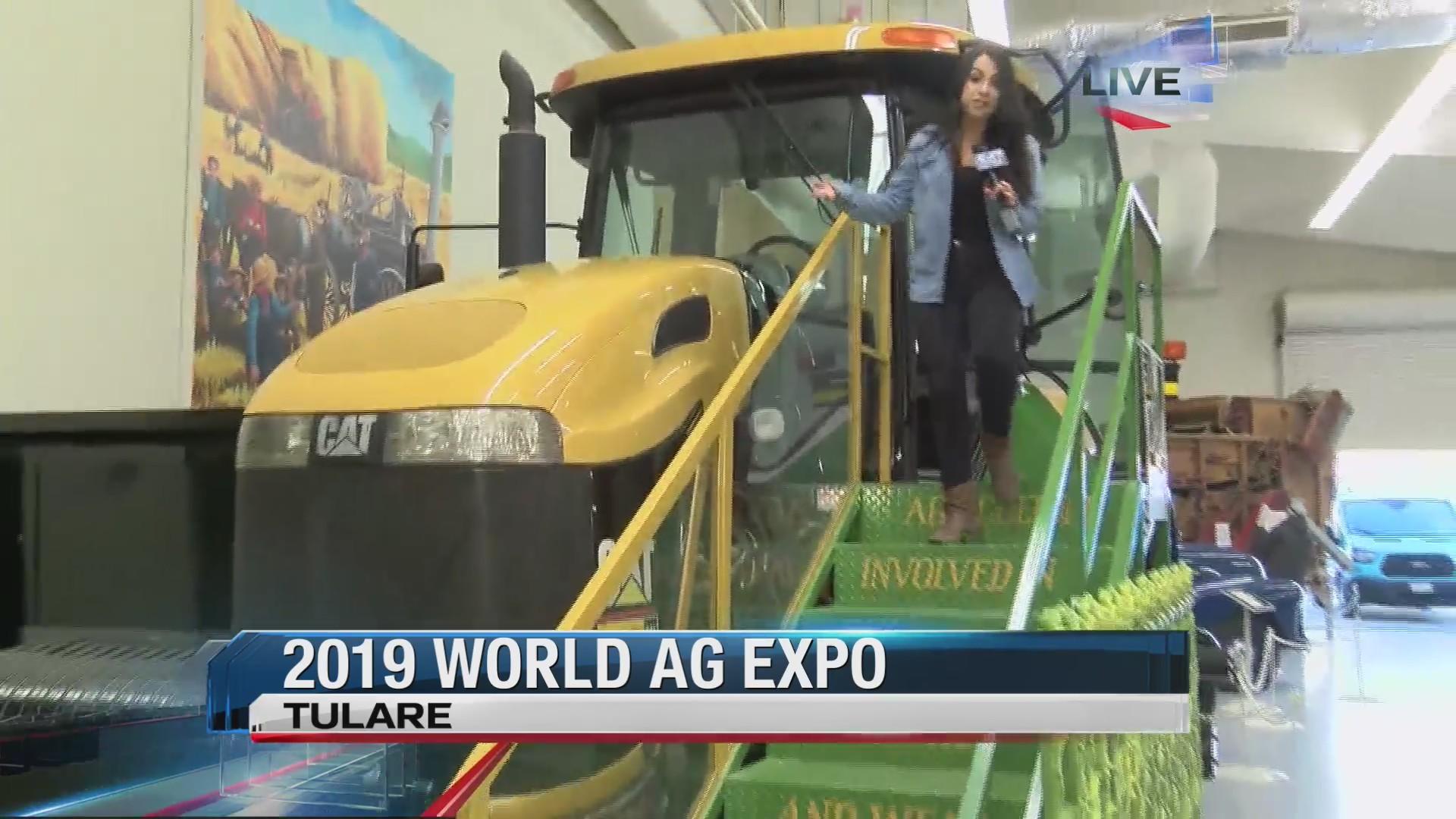 World AG Expo Museum Exhibit
