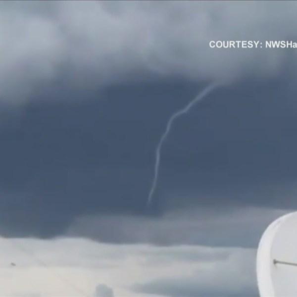 Abnormal Tornado Touch Downs
