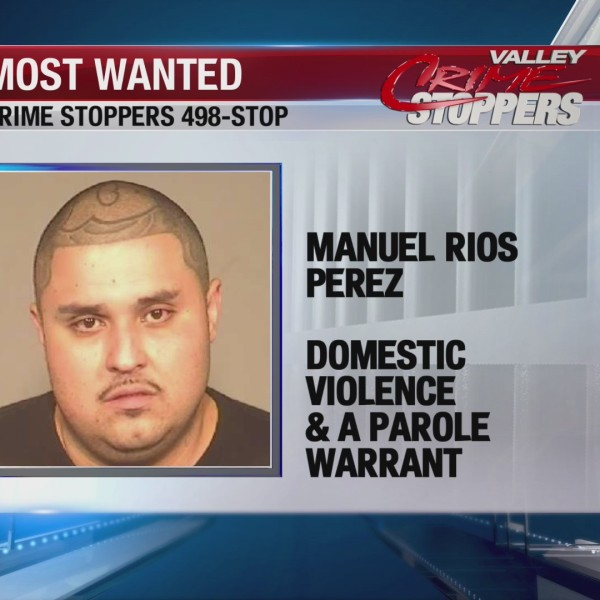 Crime Stoppers Most Wanted: Manuel Rios Perez
