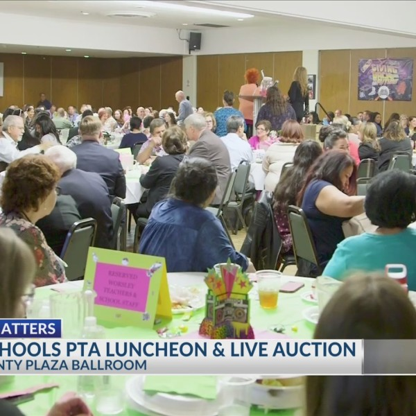 Court School PTA luncheon and live auction