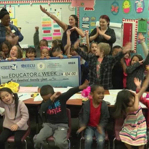 Educator of the Week: Ms. Kelsey