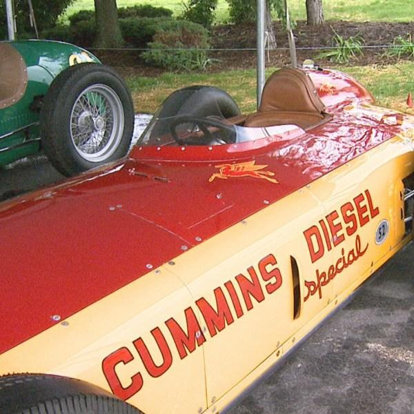 Engine maker Cummins unveils 5 vintage race cars