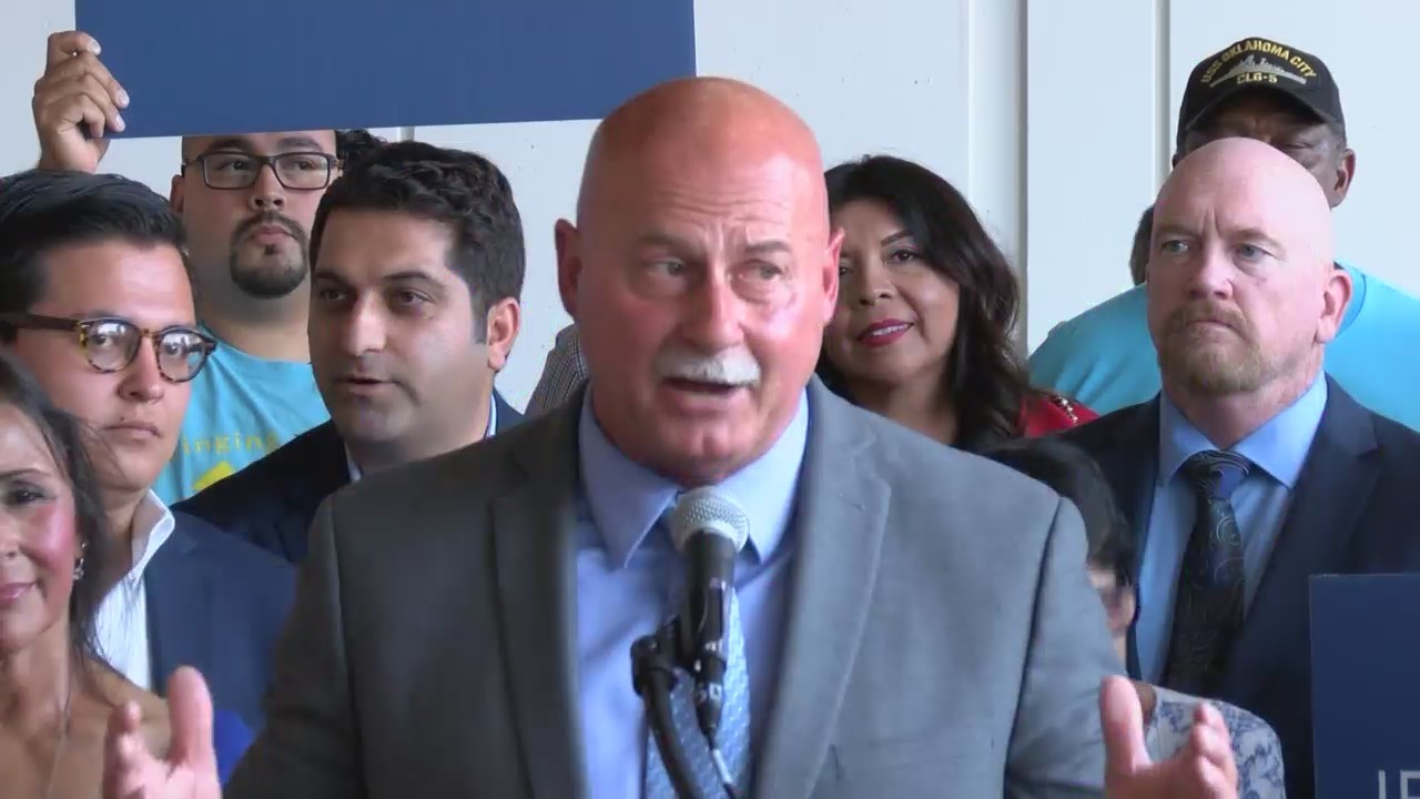 Fresno police chief Jerry Dyer, now candidate for mayor