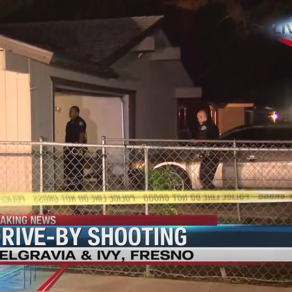 Fresno police investigate drive-by shooting