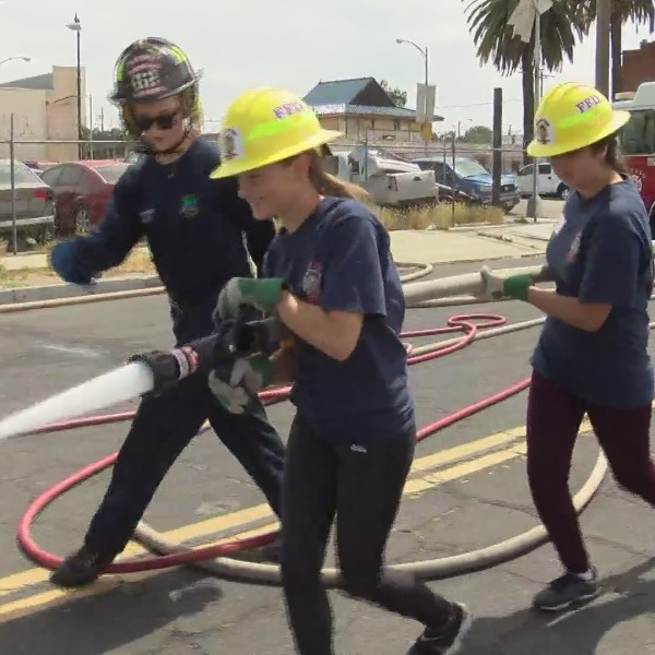 #GIRLPOWER: This program aims at getting young girls to consider becoming firefighters
