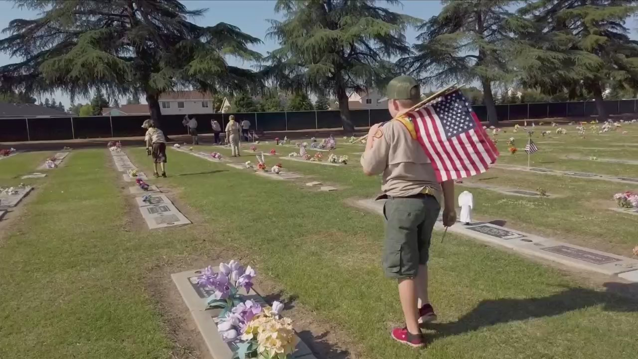 Inspiring the Valley: The faces behind the nearly 4,000 flags laid to rest at veteran's gravesites