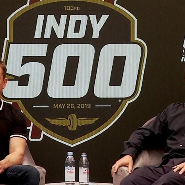 Matt Damon, Christian Bale talk racing before Indy 500