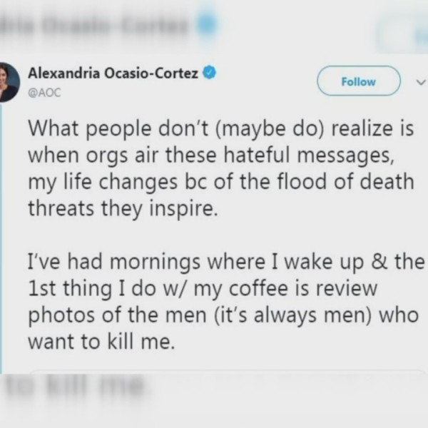 Ocasio Cortez Responds to Fresno Grizzlies Memorial Day Video Calling her 'Enemy of Freedom'
