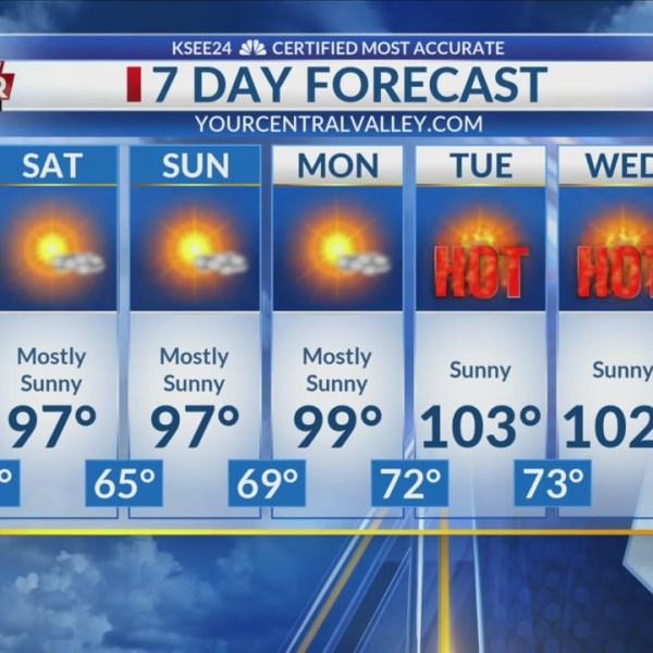 7 Day Forecast 6/13/2019