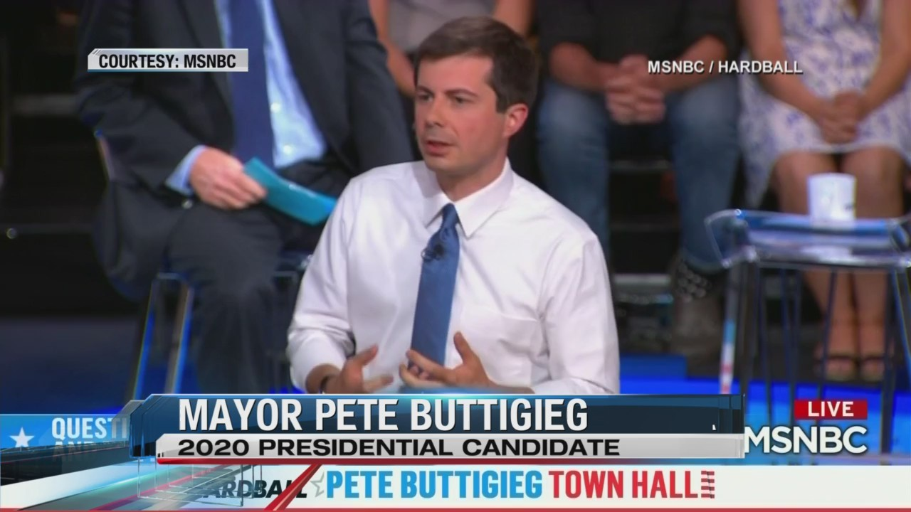 Buttigieg attends town hall at Fresno State