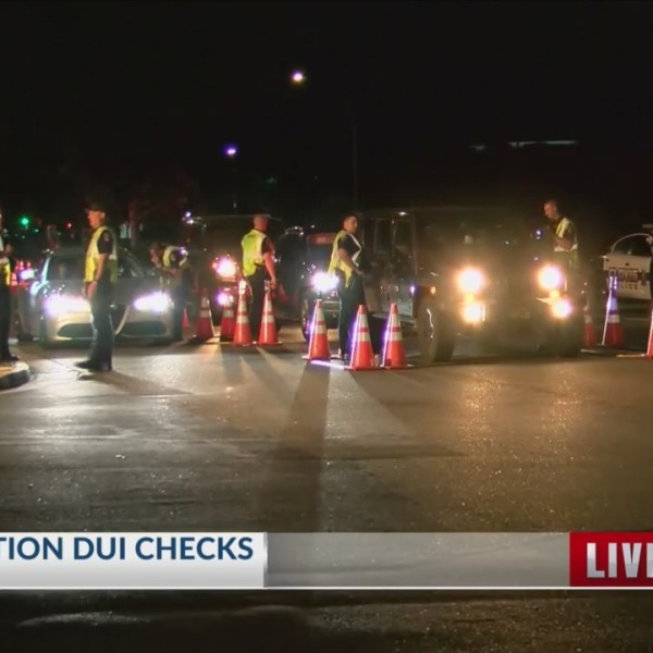 Clovis Police Hold DUI Checkpoints