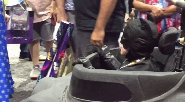Nonprofit highlights Batmobile wheelchair giveaway at Comic-Con