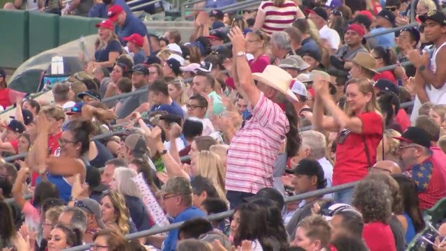 Record-breaking attendance at Fresno Grizzlies Fourth of July firework extravaganza