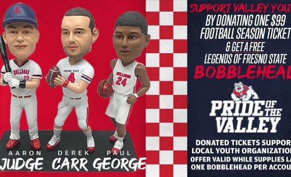Legends of Fresno State Bobbleheads