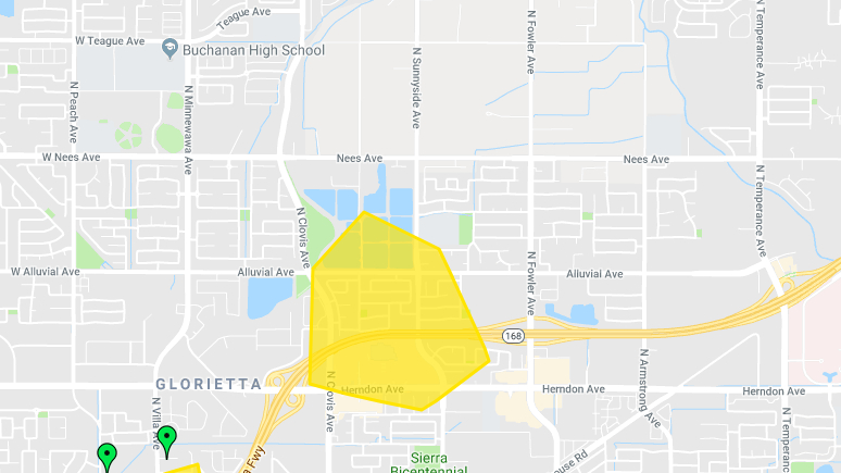 Power outage impacts PG&E customers in Clovis