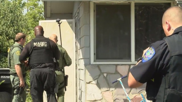 Gang members on parole or on probation checked on in Fresno County operation