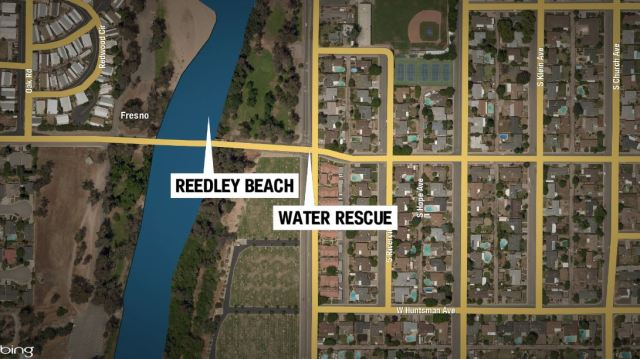 Bystanders save a man's life on the Kings River after a near drowning