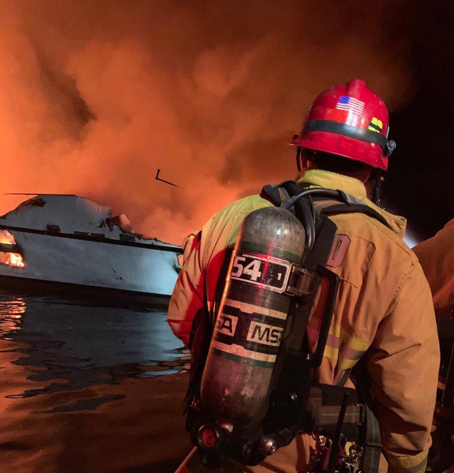 Officials: Dozens feared dead in California dive-boat fire