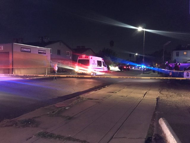 Fresno Police respond to stabbing, shooting report after a large-scale fight breaks out