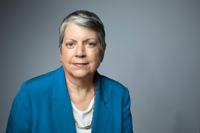 UC President Janet Napolitano to step down