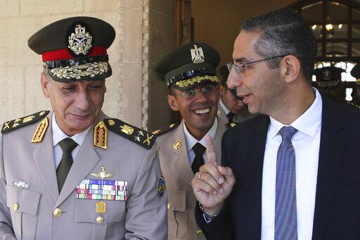 Savvas Angelides, Lt. Gen. Mohamed Ahmed Zak
