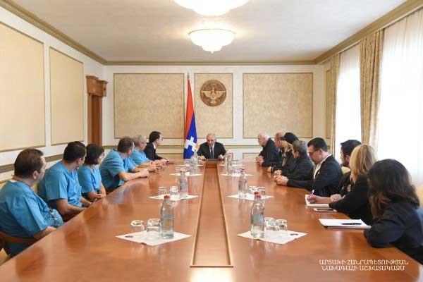 Medical meeting in Artsakh.