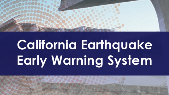 Cal OES, UC Berkeley to launch nation's first statewide earthquake early warning system