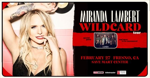 Donate to Valley Animal Center, enter to meet Miranda Lambert at her Fresno concert